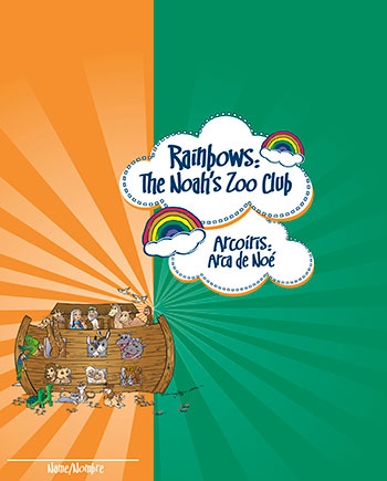 Rainbows Activity Book —  Spanish