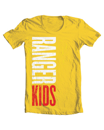 Ranger Kids Color T-Shirt Youth L