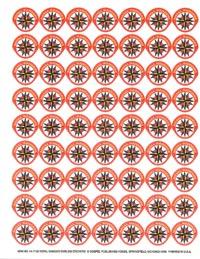 Royal Rangers Emblem Sticker Sheet