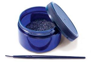 Jar of Graphite with Brush