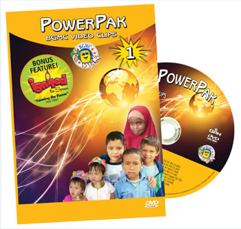 PowerPak 1 BGMC Video Clips on DVD
