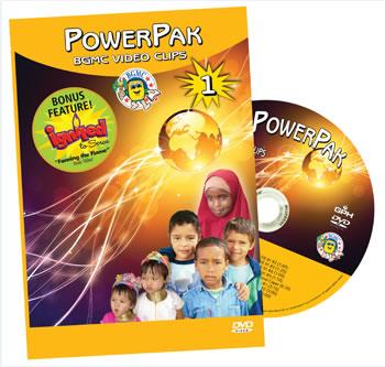 PowerPak 1 BGMC Video Clips on DVD