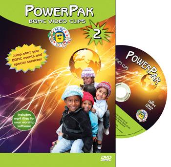 PowerPak 2 BGMC Video Clips on DVD