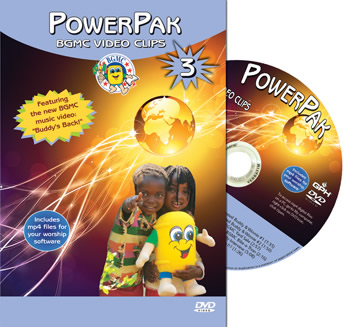 PowerPak 3 BGMC Video Clips on DVD