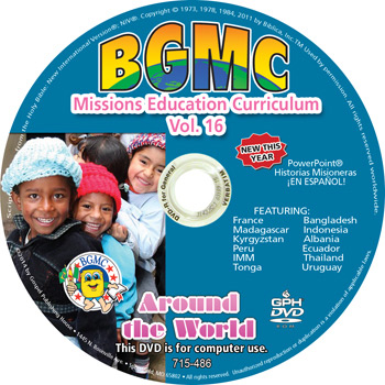 Volume 16-2014  BGMC Missions Manual on data DVD