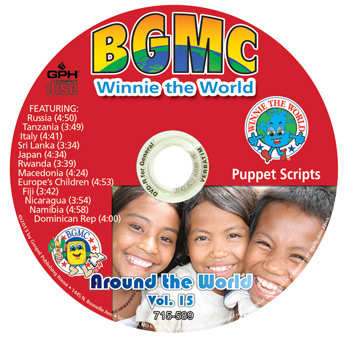Volume 15-2013 Winnie the World Skits pre-recorded on CD