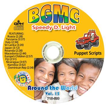 Volume 15-2013 Speedy D. Light Skits pre-recorded on CD