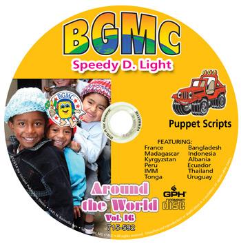 Volume 16-2014  Speedy D. Light Skits pre-recorded on CD