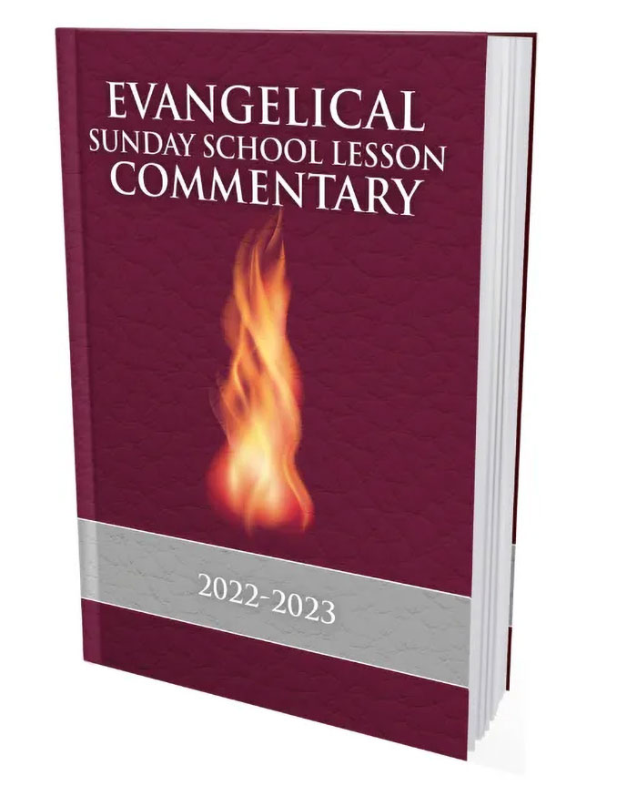 Evangelical Sunday School Lesson Commentary 2012-2013