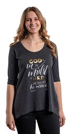 Girls Ministries Flowy Shirt - Small