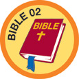 Bible Merit #2 (Orange)