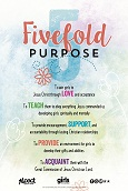 Fivefold Purpose Poster, Bilingual