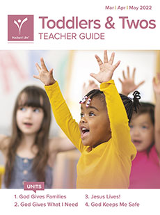 Toddlers & Twos Teacher Guide Spring