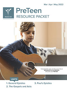 PreTeen Resource Packet Spring