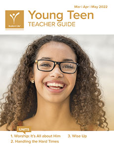 Young Teen Teacher Guide Spring