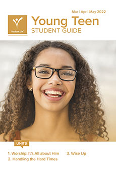 Young Teen Student Guide Spring